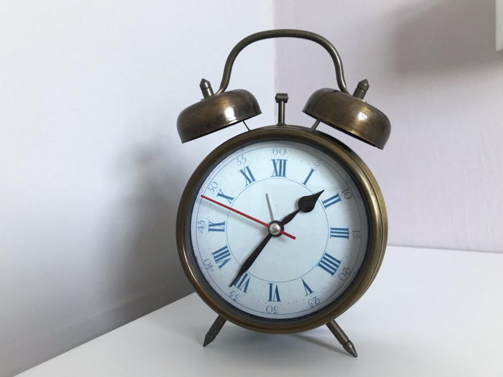 Zeit auf Wecker