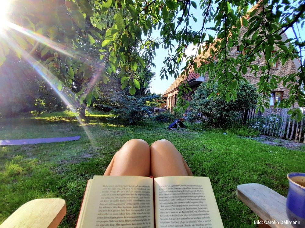 Entspannt im Garten