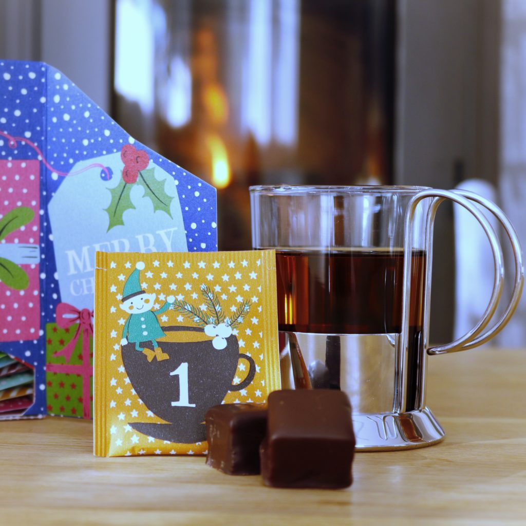 Weihnachtliche Teepause