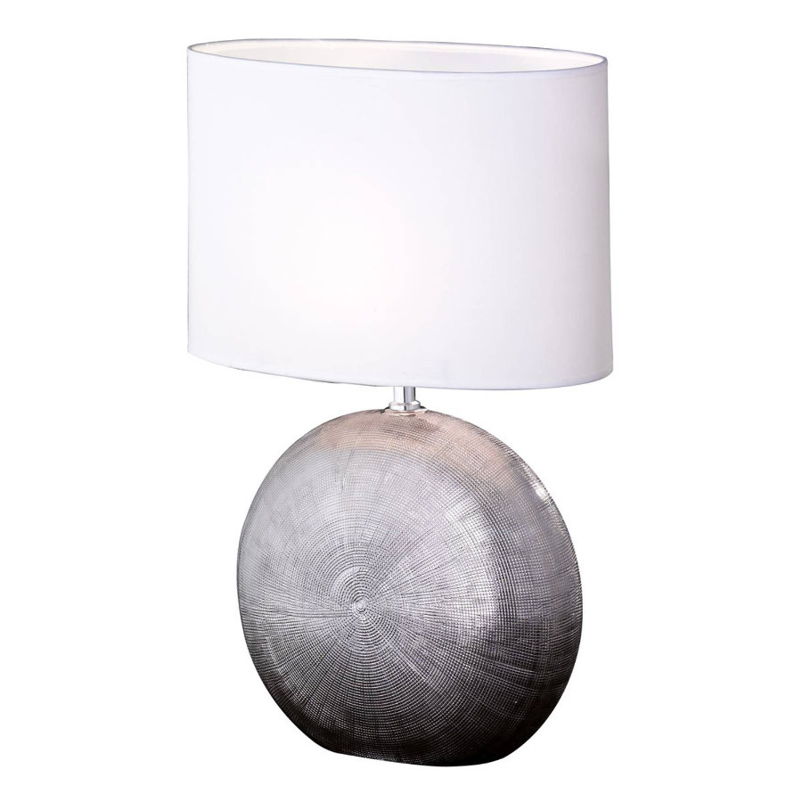 Tischlampe Foro silber