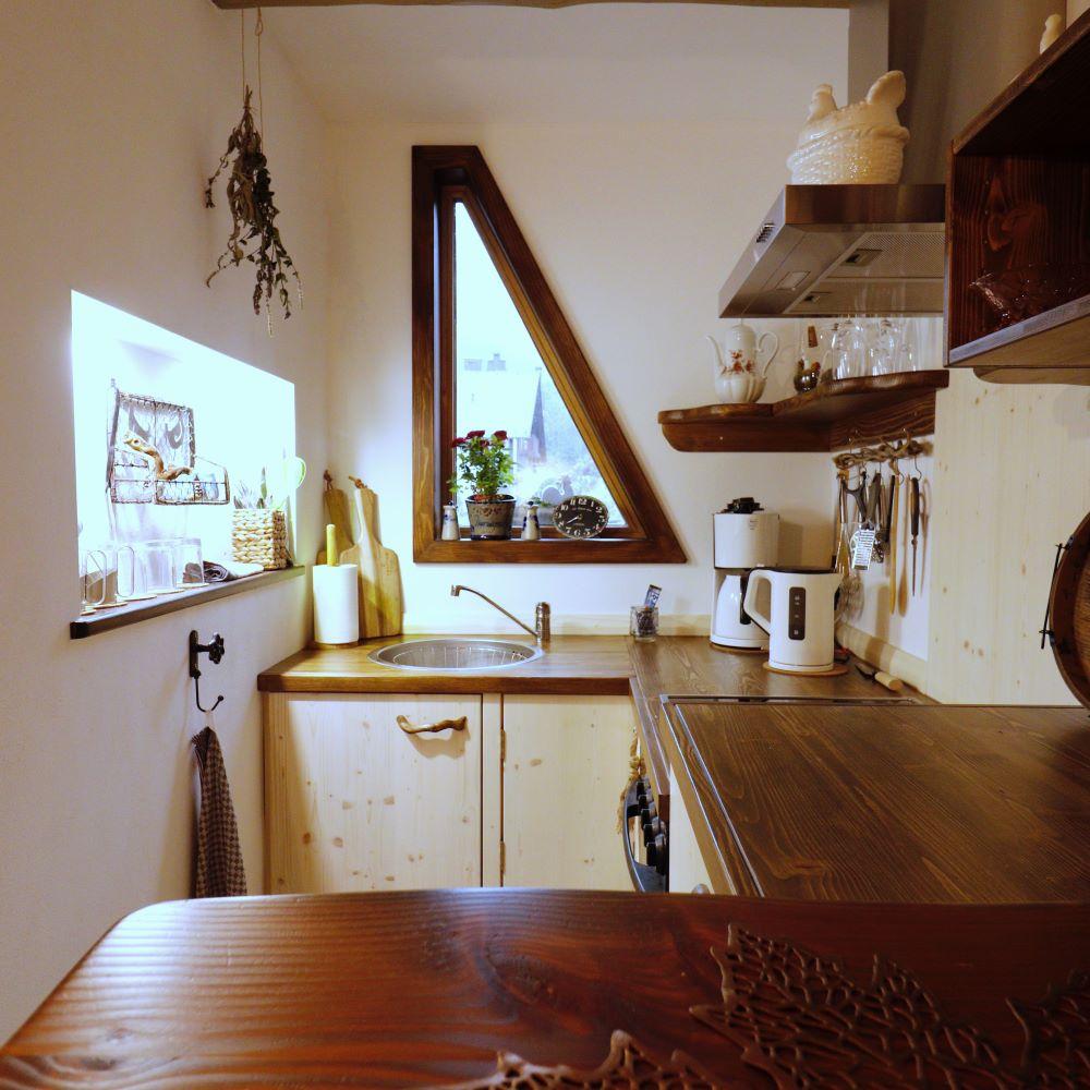 Ferienwohnung Hühnerställchen: Küche