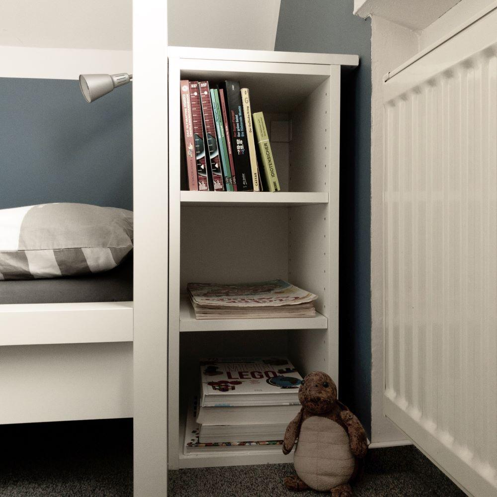 Hack 3, Kinderzimmer mit IKEA-Küche als Regal