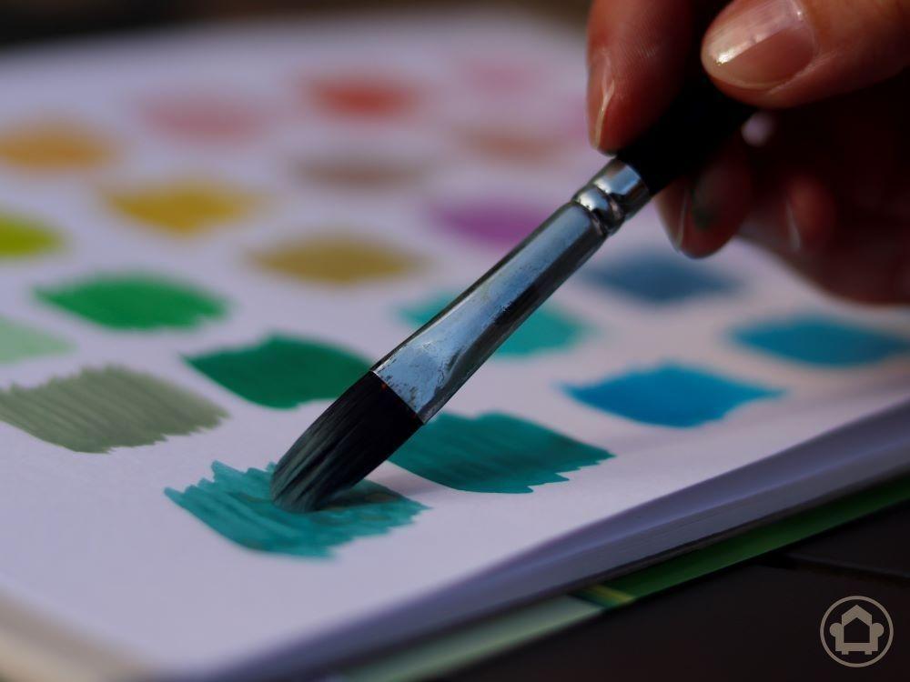 Titelbild: Farben, gemischt