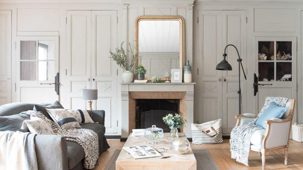 Wie Farben wirken: Grau   Wohnzimmer in Grautönen